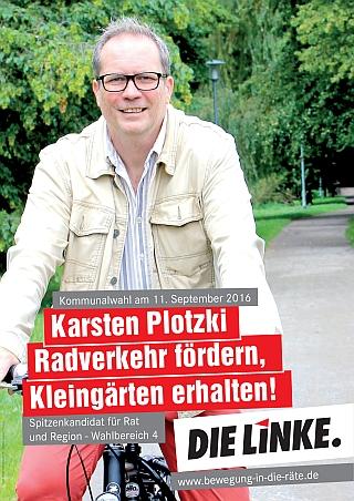 160831-PersPlak Plotzki Auf Dem Rad 320 in 4 gewinnt: sozial. ökologisch. demokratisch. besser