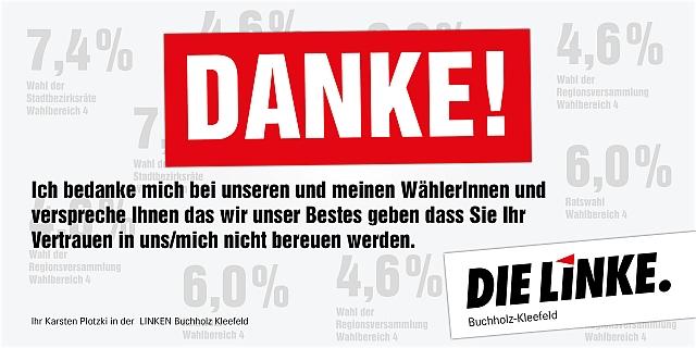 160914-DIE-LINKE -Buchholz-Kleefeld-DANKE 640 in DANKE!